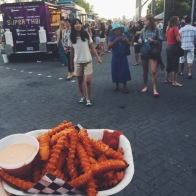 Yam fries from the taco truck