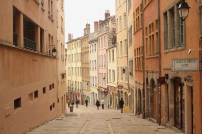 Lyon is quite vibrant and colorful. I enjoyed this city a lot more in particular because it felt calmer.